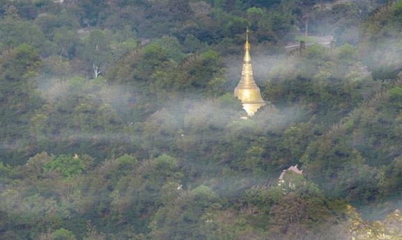仏塔完成時のイメージ図